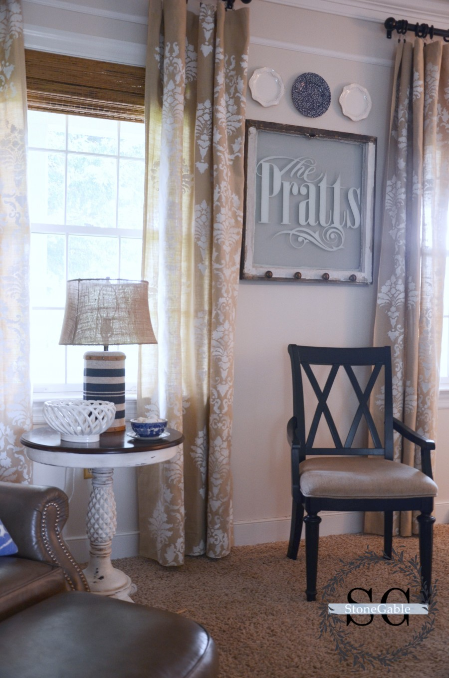 THE EVOLUTION OF A FAMILY ROOM- How I found my family room style!