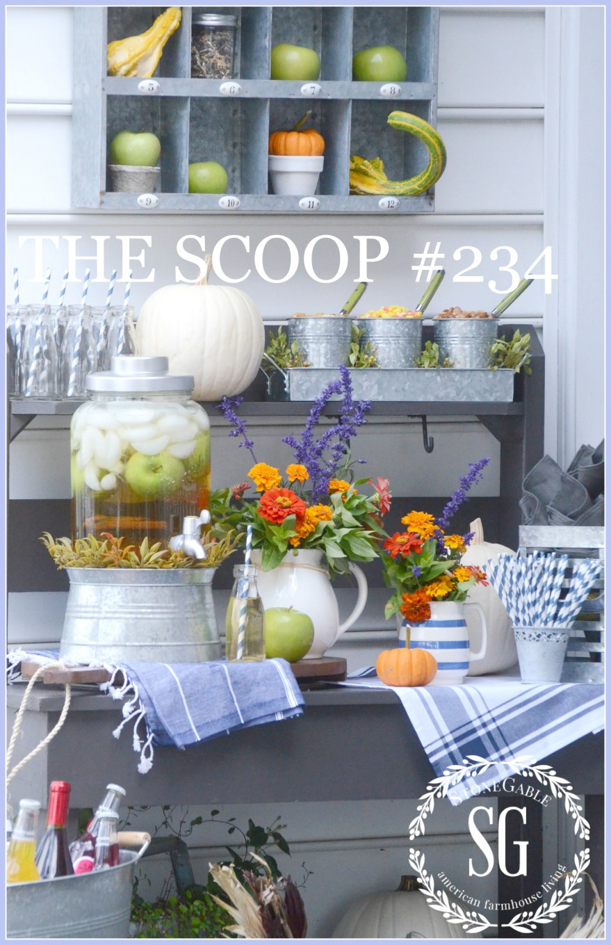 THE SCOOP- the best of home and garden posts on the blog.