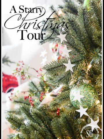 A STARRY CHRISTMAS TOUR- A home decor tour filled with Christmas cheer!