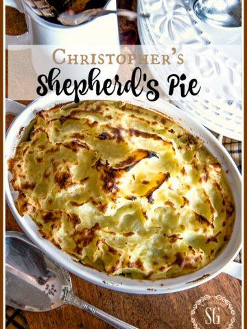 CHRISTOPHER'S SHEPHERD'S PIE