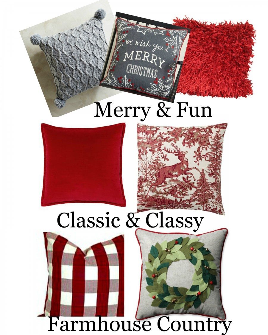 CHRISTMAS PILLOW LOVE 2016-A collection of 24 of the best Christmas pillows for 2016