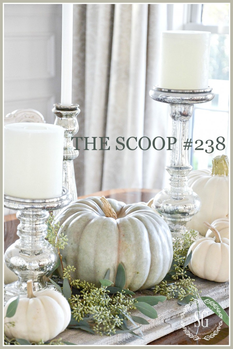 THE SCOOP- Featuring the best of home and garden blogs around the web