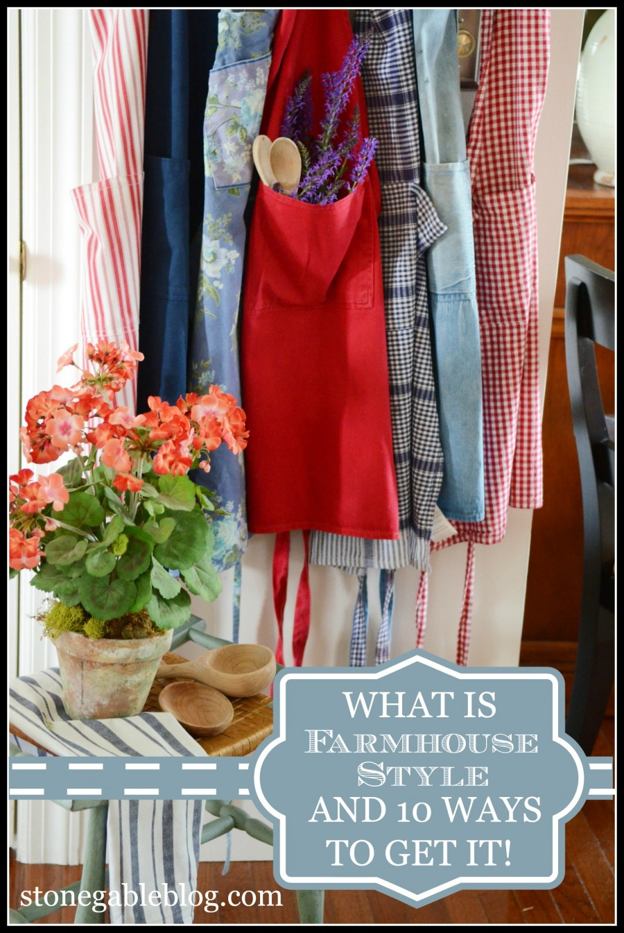 WHAT IS FARMHOUSE STYLE AND HOW TO GET IT! Every home could use just a little farmhouse charm!