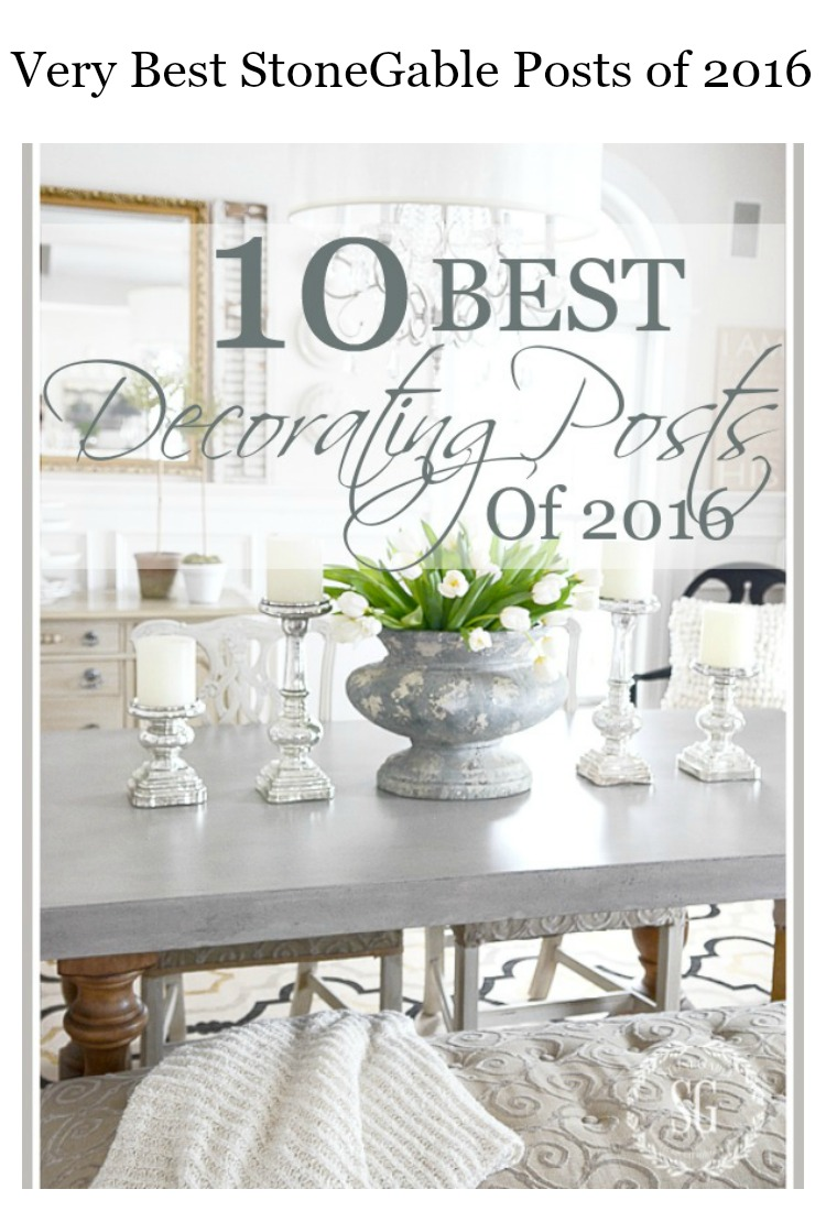 THE 10 BEST POSTS OF 2016- Here