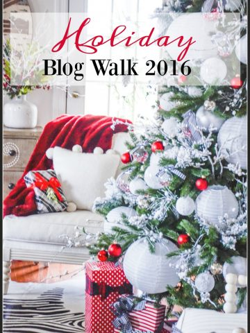 HOLIDAY BLOG WALK 2016