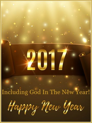 INCLUDING GOD IN THE NEW YEAR