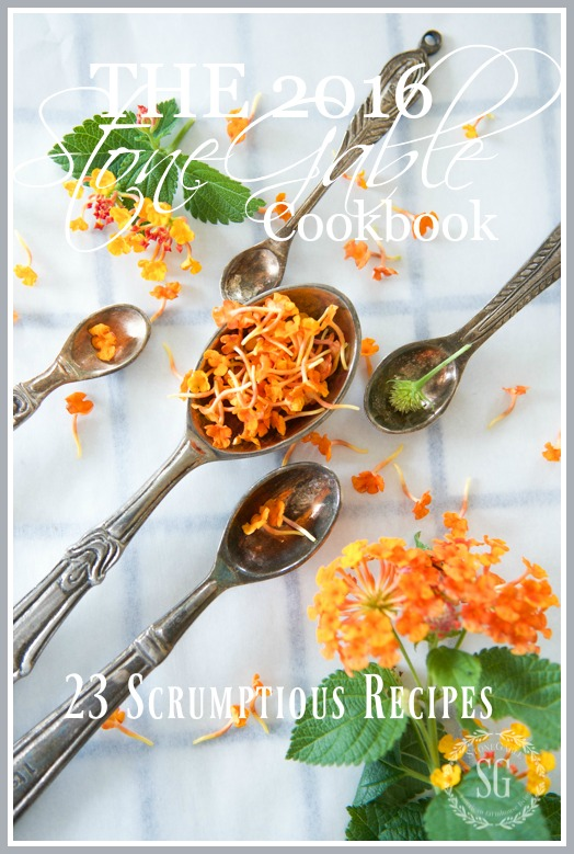 THE 2016 STONEGABLE COOKBOOK- 23 scrumptious kitchen-tested recipes.