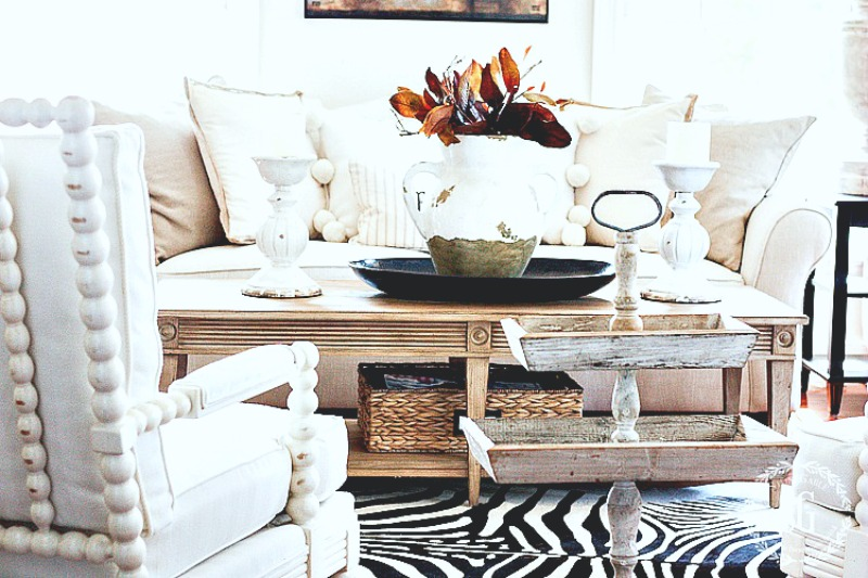 1SIMPLIFIED FALL DECOR- magnolia-leaves-stonegableblog-2