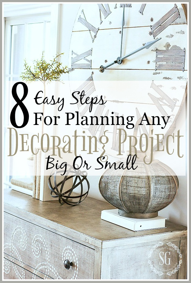 8 EASY STEPS FOR DOING ANY PROJECT BIG OR SMALL… AND PODCAST #9