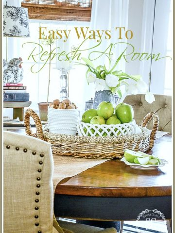 EASY WAYS TO REFRESH A ROOM