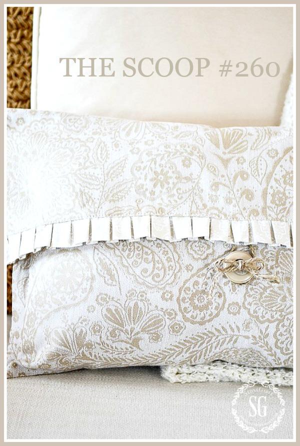 NO-SEW-DISH-TOWEL-PILLOW-DIY-pillow-on-sofa-stonegableblog-2