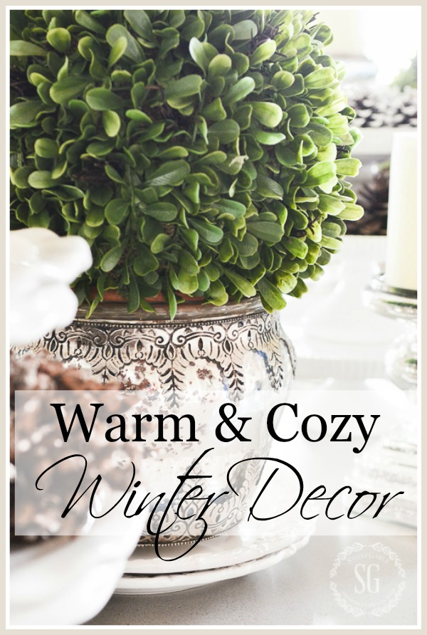 WARM AND COZY WINTER DECORATING