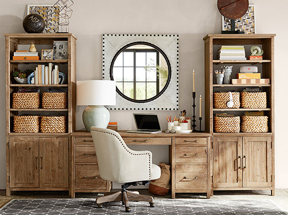 parker home office-pottery barn