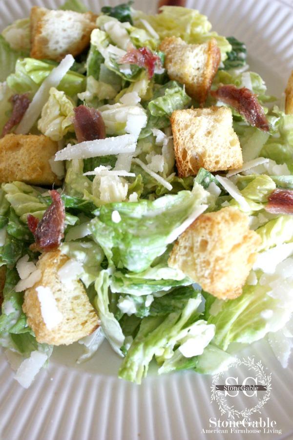 1Caesar Salad-stonegableblog.com
