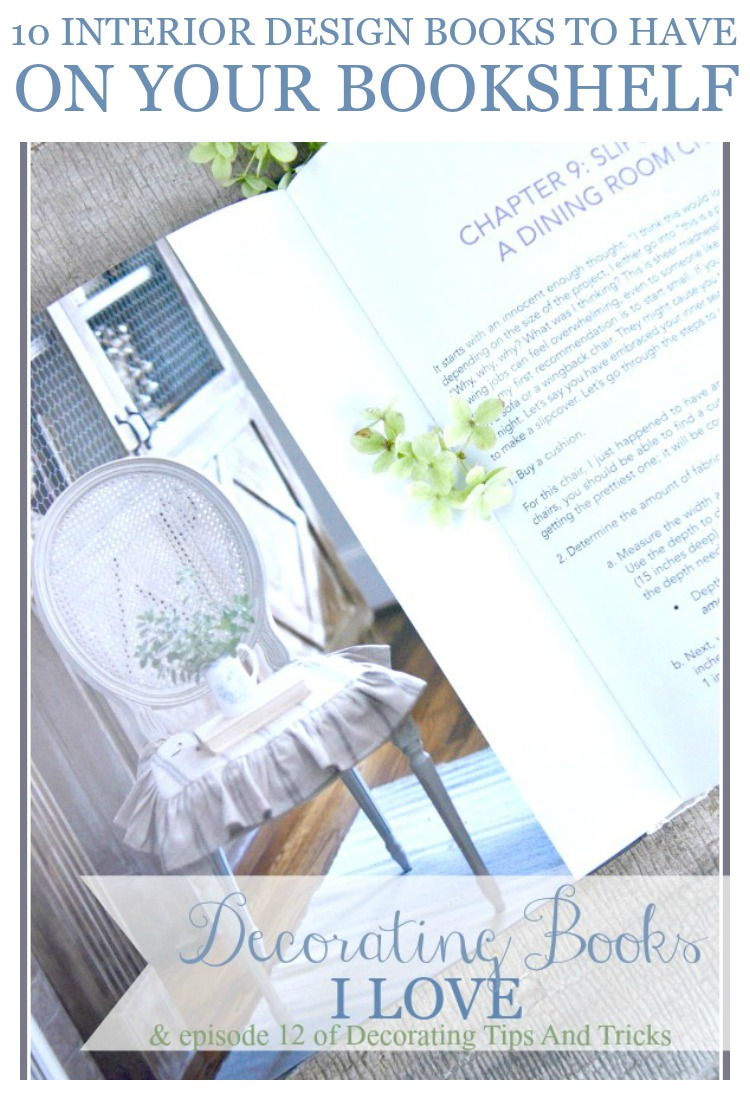 DECORATING BOOKS I LOVE-10 best interior design book to have on your bookshelf!