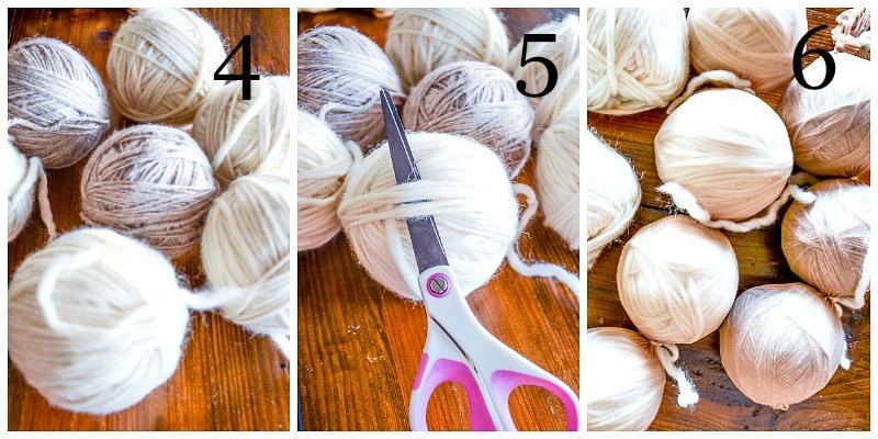 EASY TO MAKE DRYER BALLS DIY- instructions 4-6-stonegableblog.com