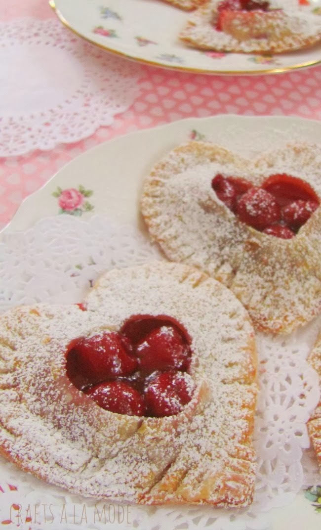 Sweet Little Cherry Pies