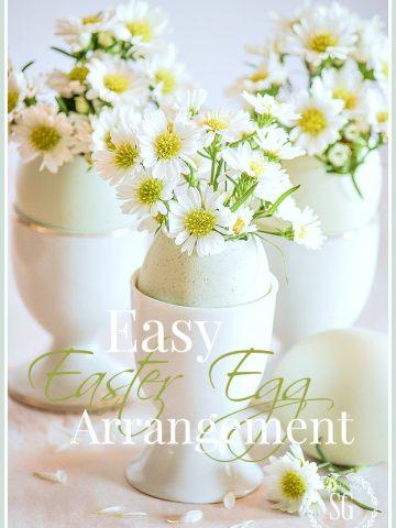 EASY EASTER EGG ARRANGEMENT