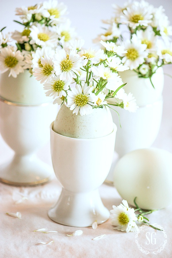 EASY EASTER EGG ARRANGEMENT- so simple and so sweet diy!