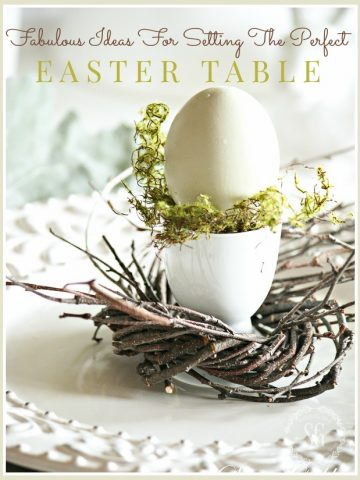 FABULOUS IDEAS FOR SETTING THE PERFECT EASTER TABLE!