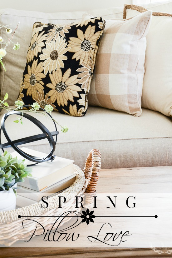 SPRING PILLOW LOVE-The best collection of spring pillows for 2017