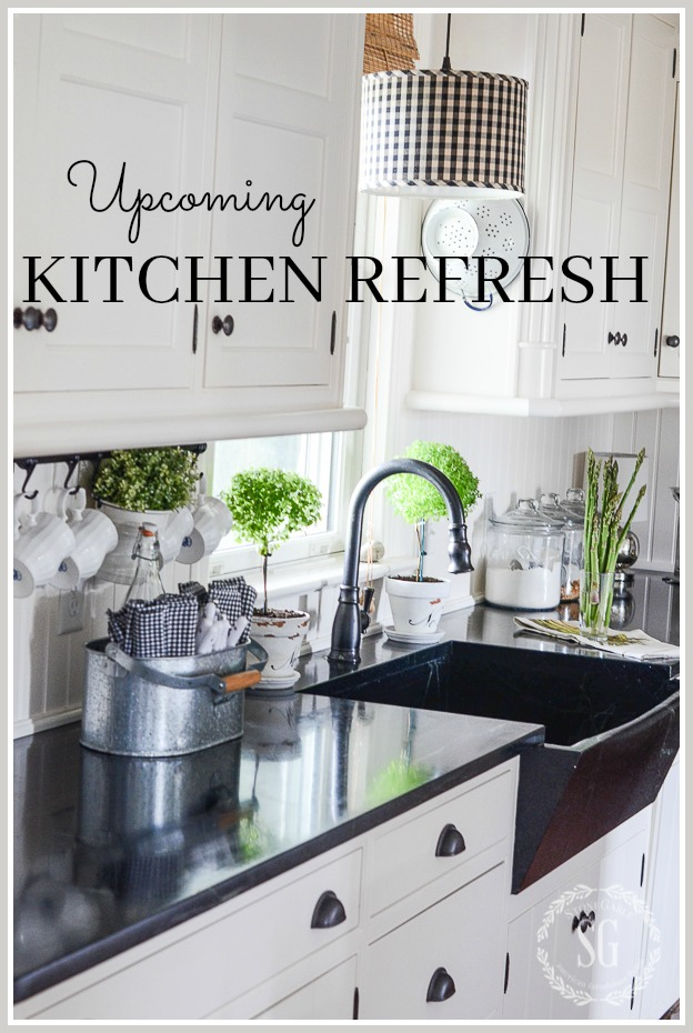 UPCOMING KITCHEN REFRESH