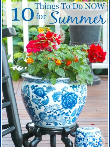 10 THINGS TO DO NOW FOR SUMMER