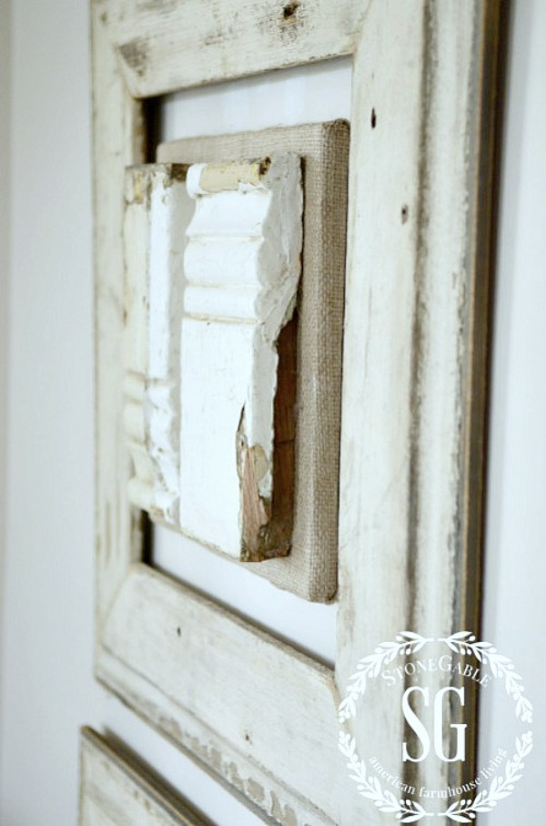 HOW TO USE SALVAGE IN DECOR- Salvaged items create charm, surprise and elegance in a home! See how!