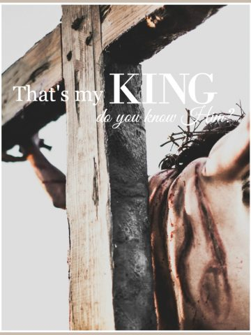 THAT'S MY KING... DO YOU KNOW HIM?