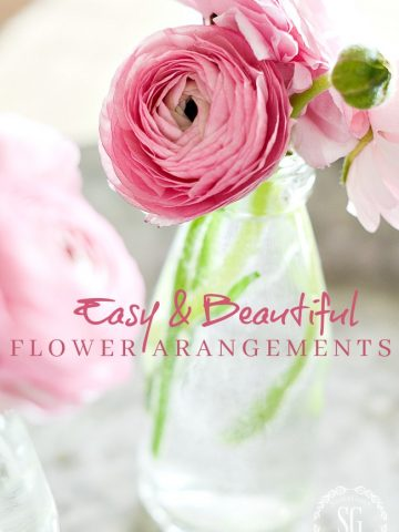 EASY AND BEAUTIFUL FLOWER ARRANGING