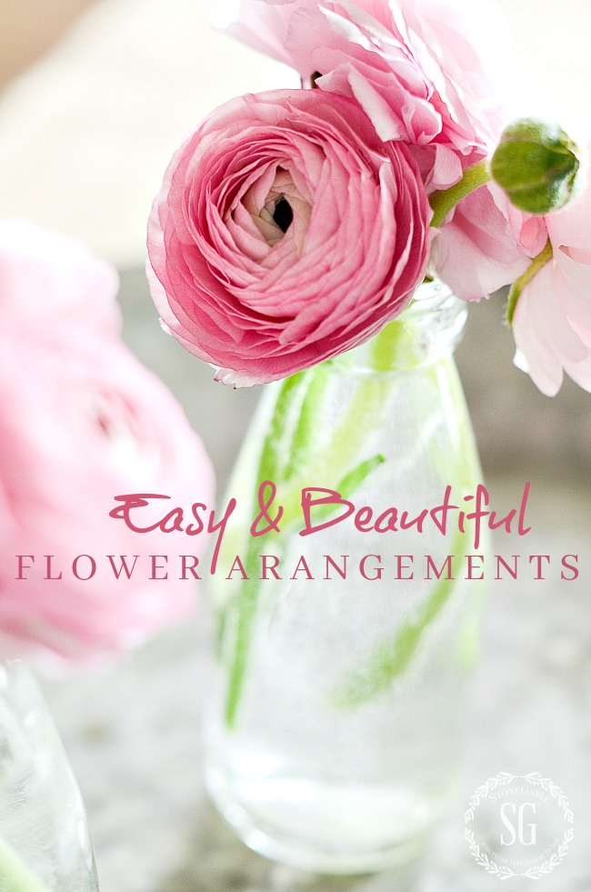 Easy And Beautiful Flower Arranging Stonegable