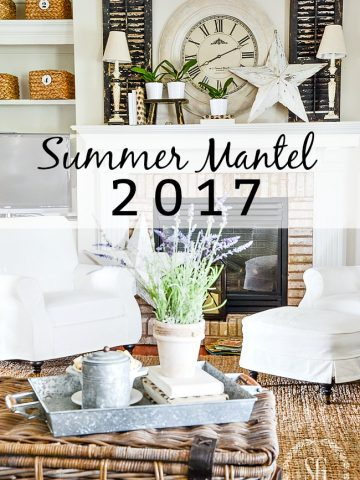 SUMMER MANTEL 2017