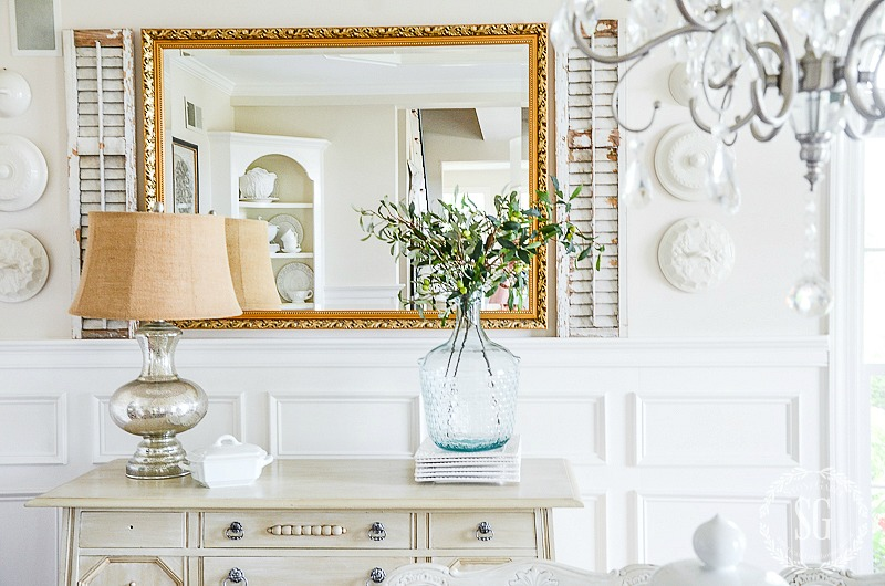 HOW TO FAKE HIGH END DECOR-We all love the high end look! Here's how to get the look on a budget!