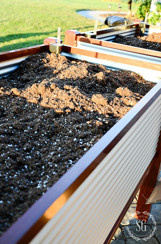 Planting Herbs In Raised Beds Stonegable