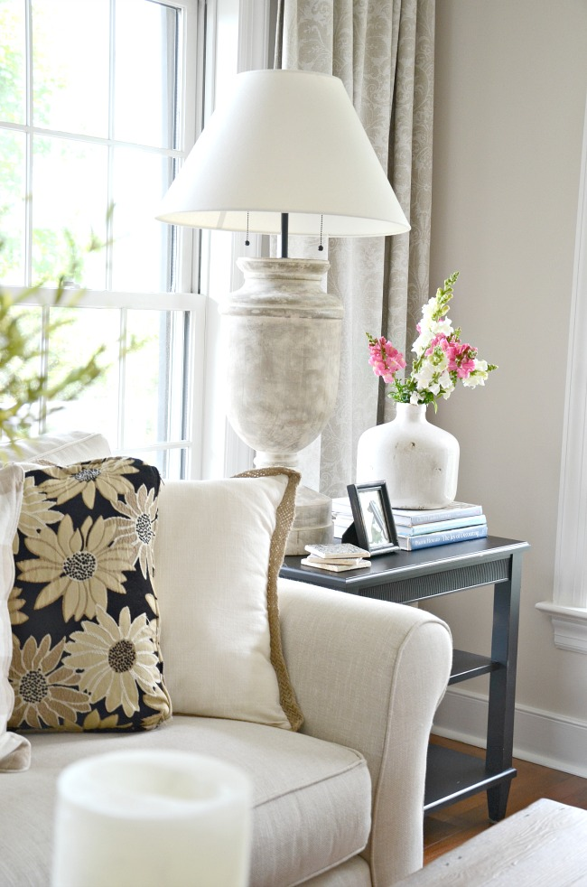 How To Style An End Table Like A Pro Stonegable
