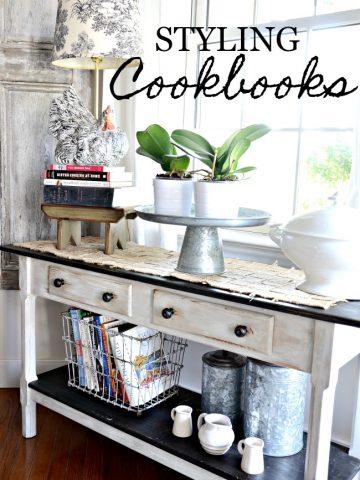STYLING COOKBOOKS