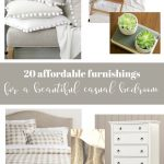COLLAGE OF BEDROOM FURNITURE