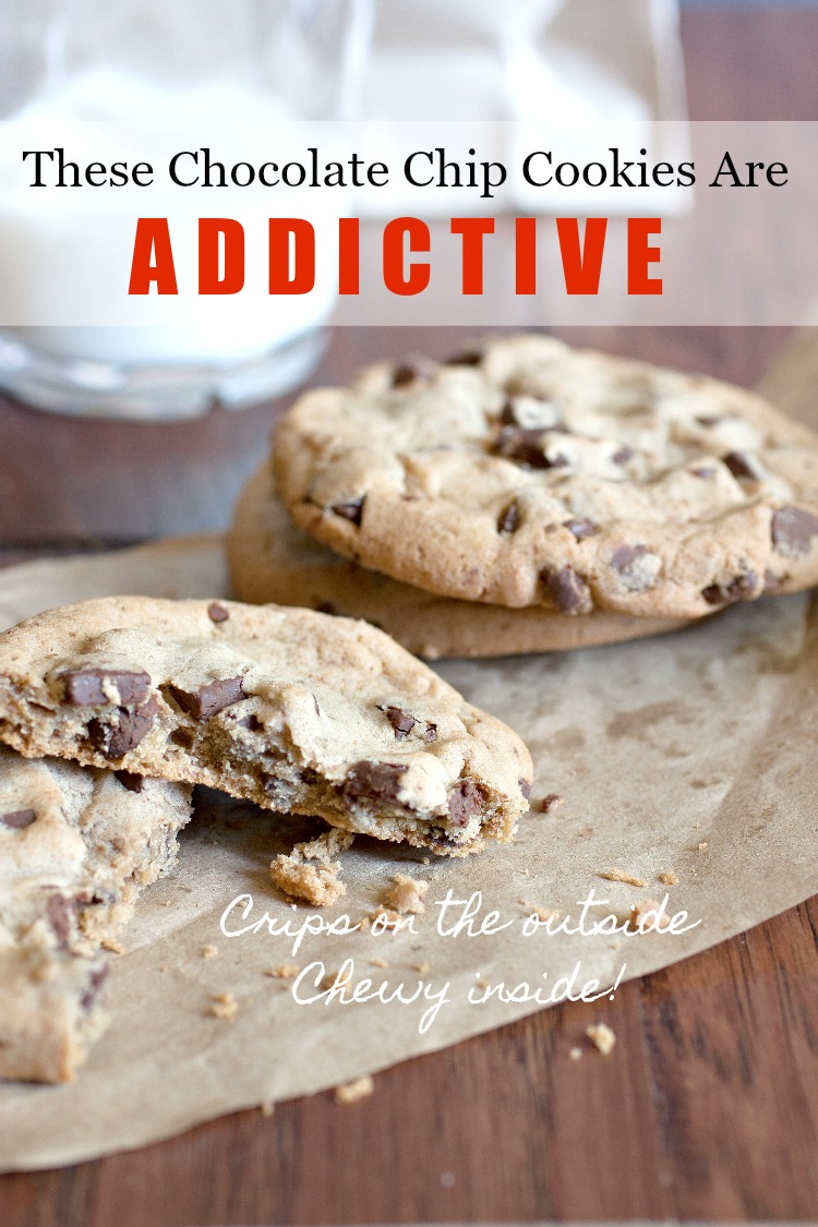 MY FAVORITE CHOCOLATE CHIP COOKIES- Delicious, classic and a crowd pleaser!