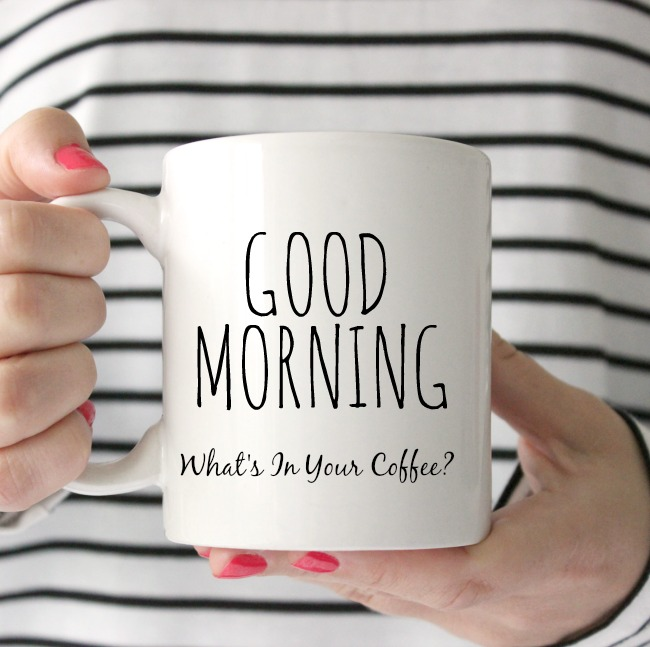 What's In Your Morning Coffee- A spiritual look at what we let seep into our lives if not careful