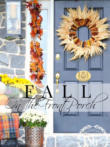 FABULOUS FALL FRONT PORCH