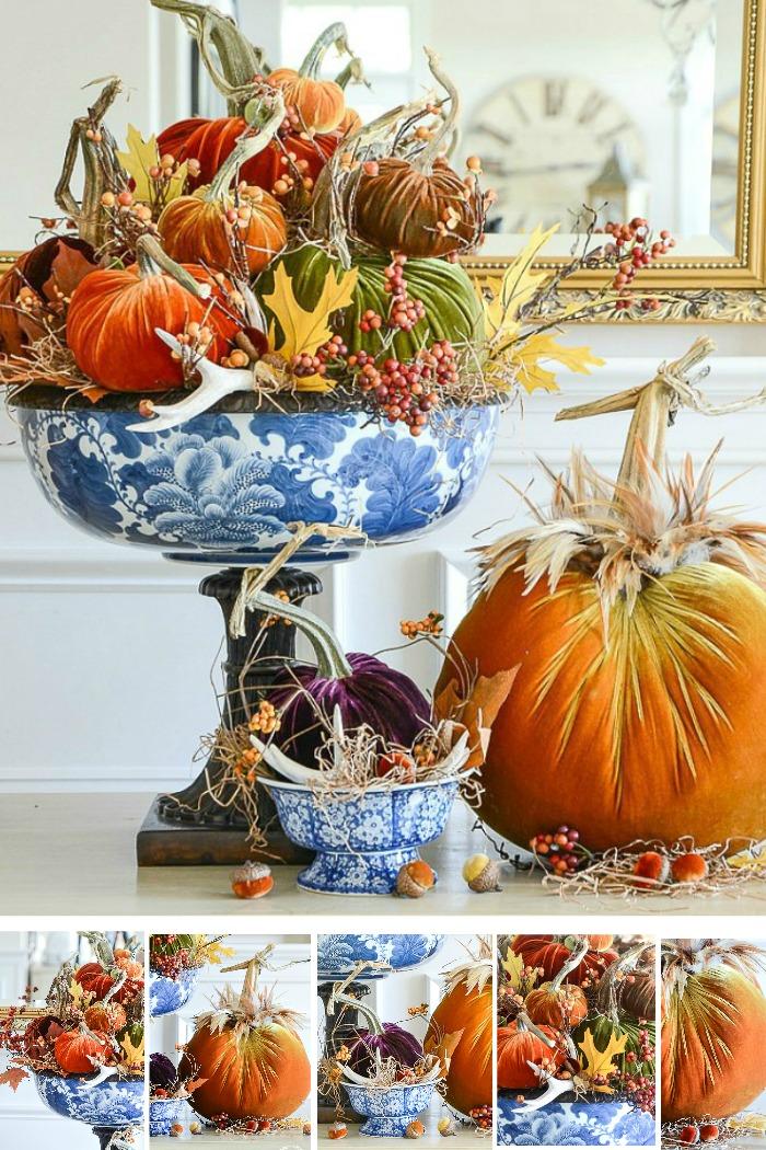 Pumpkins In Velvet Stonegable