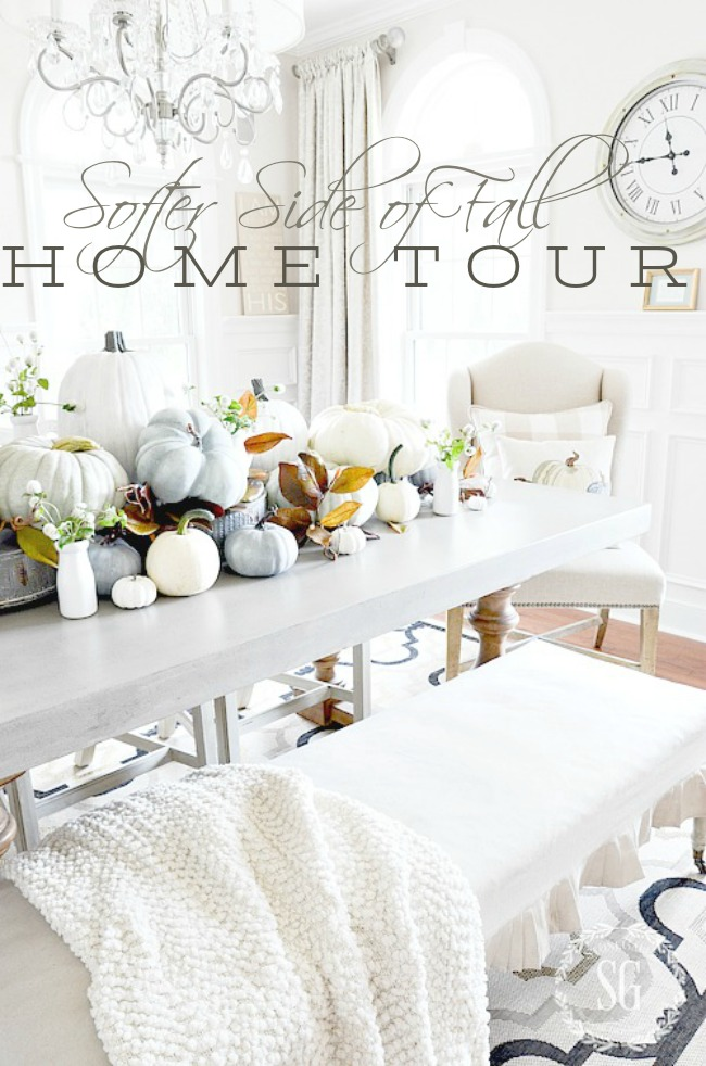 SOFTER SIDE OF FALL, PART I TOUR- Come see fall in it's soft and natural best! Lots of ideas you can do too!