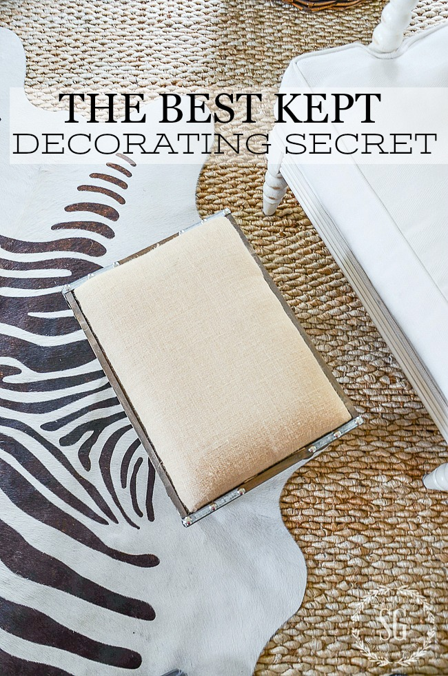 THE BEST KEPT DECORATING SECRET! This one decorating secret can transform your home!