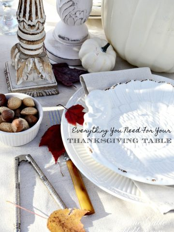 EVERYTHING YOU NEED FOR YOUR THANKSGIVING TABLE- Setting a beautiful table starts with inspiration and a the right things put on your table! See my favorite picks here.