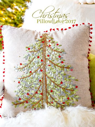 CHRISTMAS PILLOW LOVE 2017