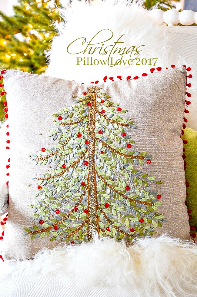 CHRISTMAS PILLOW LOVE - I've done all the work to find the very best pillow for the Christmas season!
