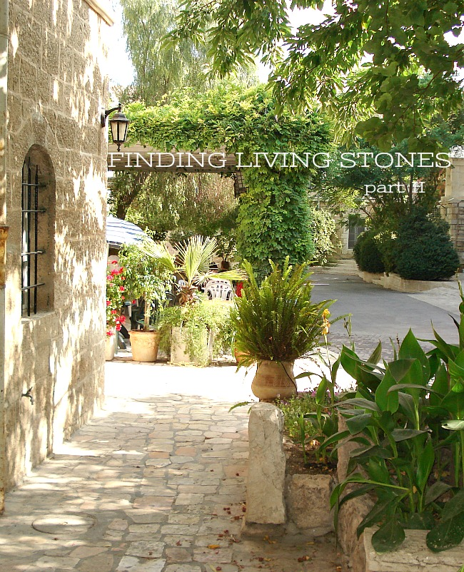 FINDING LIVING STONES- PART 2 FINDING GOD IN THE HEARTS OF HIS PEOPLE.