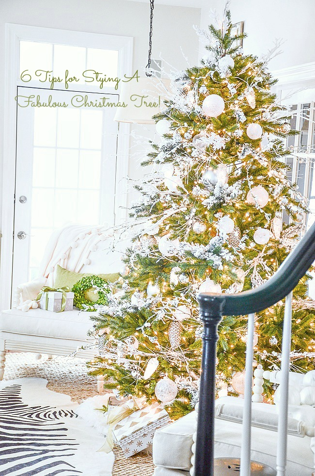 CHRISTMAS TREE- What makes a Christmas tree special. Do these 5 things!