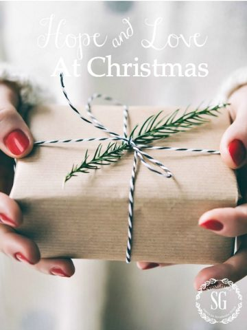 HOPE AND LOVE AT CHRISTMAS