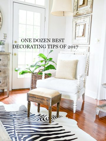 ONE DOZEN BEST DECORATING POST OF 2017